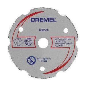 Dremel Disque à tronçonner multi-usage en carbure DSM20 DSM500