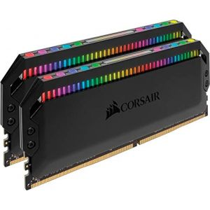 Corsair Dominator Platinum RGB 32 Go (2 x 16 Go) DDR4 3200 MHz CL16 Black