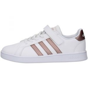 Adidas GRAND COURT C, BLANC/OR - BLANC - enfant - CHAUSSURES BASSES