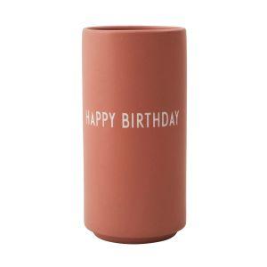 Design Letters Vase Happy Birthday (nude)