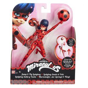 Bandai Miraculous Lady Bug figurine à fonction 19 cm