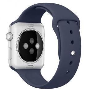 Apple Bracelet de montre Apple watch 38mm Sport Bleu Nuit