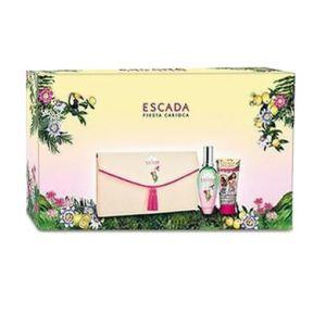 Escada Fiesta Carioca - Coffret eau de toilette, lait pour le corps et pochette