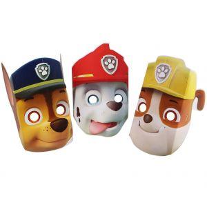 8 masques en carton Pat'Patrouille