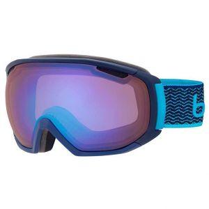 Bollé Masques de ski Tsar M-l - Matte Navy / Neon Blue - Taille Aurora/CAT2