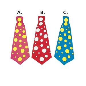 Widmann Grande cravatte de clown longue
