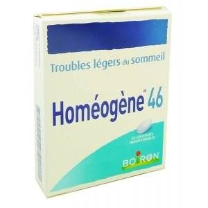 Boiron Homéogène 46 - 60 comprimés orodispersibles