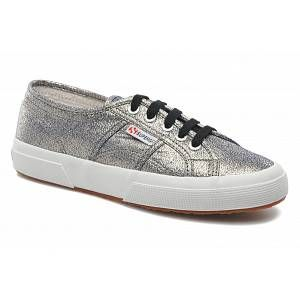 Superga 2750-Lamew, Sneakers Basses femme, Argent (980 Grey), 41 EU