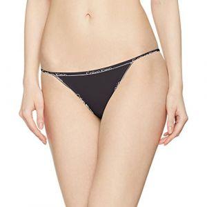 Calvin Klein Bikini String, Noir