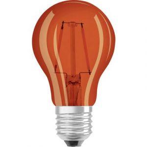 Osram Ampoule LED E27 4058075816046 forme standard 2 W = 15 W orange (Ø x L) 55 mm x 105 mm EEC: classe A+ à filament 1