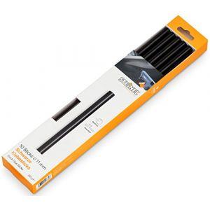 Steinel 6792 Bâtons de colle noir 11 mm