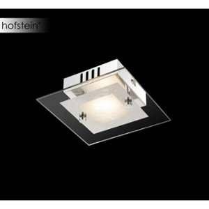 Globo Lighting Applique L15 x l15 x h5,3 cm - Verre - Applique chrome - verre - cristaux en - LxWxH:150x150x53 - Ampoule incluse