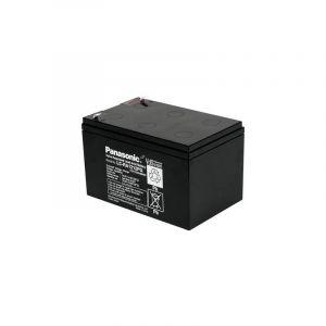 Panasonic Batterie au plomb 12 V 12 Ah 12 V 12 Ah plomb (AGM) (l x h x p) 151 x 94 x 98 mm connecteur plat 4,8 mm certification VdS, sans entretien,