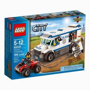 Lego 60043 - City : Le transport du prisonnier
