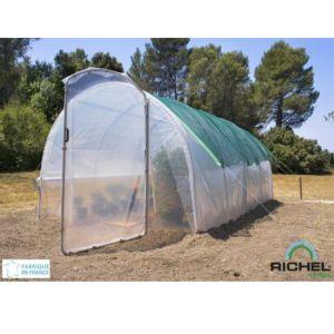 Richel Kit d'ombrage pour serres longueur 4 m
