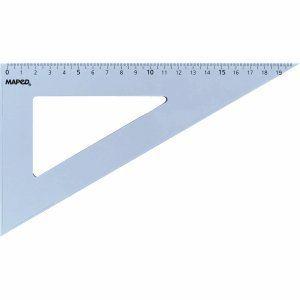 Maped Équerre 60° Start en plastique 21 cm