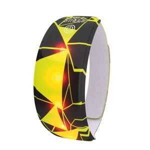 Wowow Urban - avec attache velcro 37x4 cm jaune/noir Accessoires sécurité
