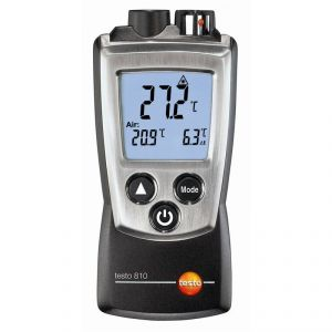 Testo 810 - Thermomètre 2 canaux infrarouge et température ambiante