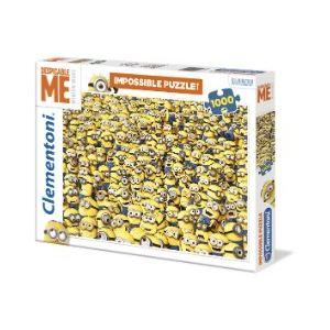 Clementoni Impossible Minions - Puzzle 1000 pièces