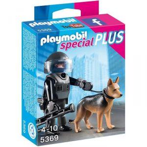 Playmobil 5369 Special Plus - Policier des forces spéciales avec chien