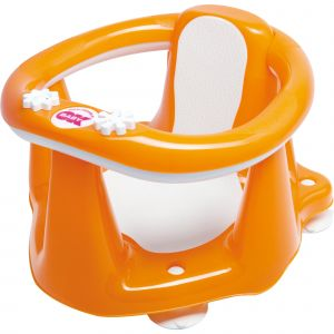 Okbaby Siège de bain Flipper Evolution orange