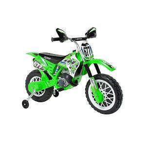 Injusa Moto Électrique Scramble 6V - Vert