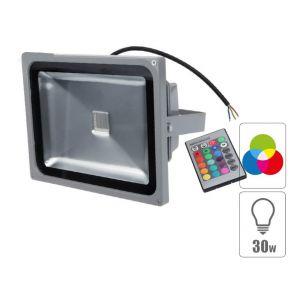 Techbox Projecteur led 30w exterieur RGB étanche