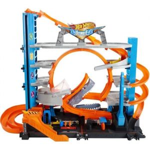 Mattel Hot Wheels City Garage Ultime