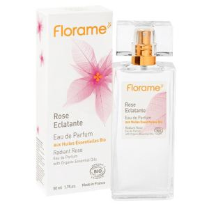 Florame Rose Eclatante - Eau de parfum aux huiles essentielles Bio
