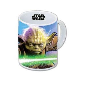 Joy Toy Mug Star Wars Yoda en céramique
