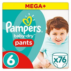Pampers Baby-Dry Pants taille 6 (15 kg+) - 76 couches-culottes