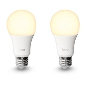 Innr Lightning Smart Bulb E27/B22 - Blanc chaud - Pack de 2