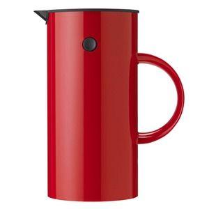 Stelton Cafetière à piston rouge
