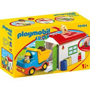 Playmobil 70184 - Ouvrier Avec Camion Et Garage