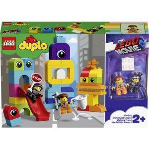 Lego DUPLO Movie 2 10895 - Les visiteurs de la planète d'Emmet et Lucy -1