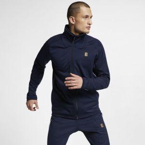 Nike Veste de tennis Court Homme - Bleu - Couleur Bleu - Taille M