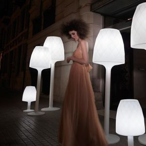 Image de Vondom Lampe Vases Design Blanche H70