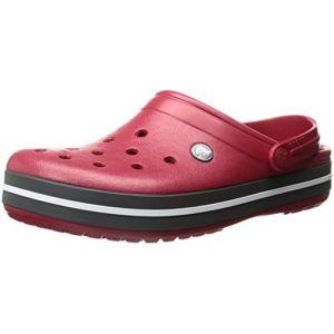 Crocs Crocband, Sabots Mixte Adulte, Rouge (Pepper), 46-47 EU