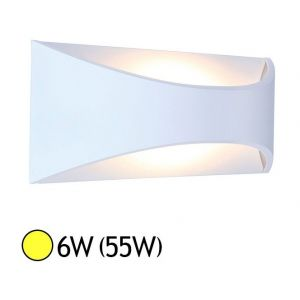Vision-El Applique murale LED COB 6W (55W) IP65 Blanc chaud 3000°K