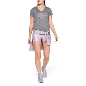 Under Armour Tech SSV Graphic T-Shirt Femme, Gris (010), S