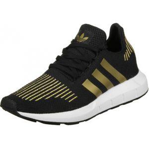 Image de Adidas Swift Run W, Multicolore (Core Black/Gold Met./FTWR White), 40 EU