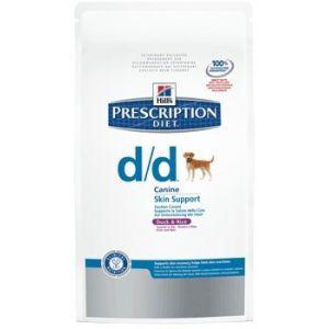 Hill's Prescription Diet d/d canine - Sac 5 kg, Saveur : Duck & Rice