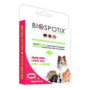 Biogance Biospotix Collier Répulsif pour Grand Chien