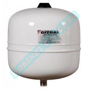 Gitral Vase d'expansion HYDROCHAUD a membrane fixe pour eau sanitaire 8 litres pression maxi service 10 bar réf HY8
