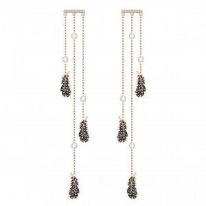 Swarovski Femme Plaqué or Boucles d'oreilles pendantes - 5497873