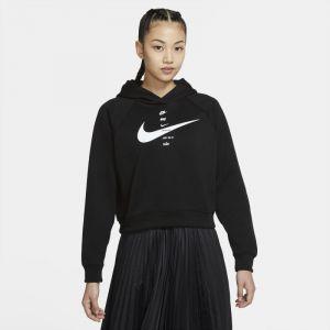 Nike Sweat-shirt W NSW SWSH HOODIE FLC BB - Couleur S,M,L,XL,XS - Taille Noir