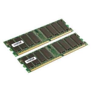 Crucial CT2KIT6464Z40B - Barrettes mémoire 2 x 512 Mo DDR 400 MHz 184 broches