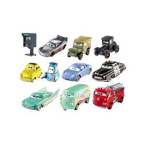 Mattel Pack de 10 véhicules Cars 3