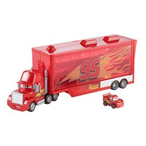 Mattel Cars 3 - Camion Mack transporteur de mini véhicules