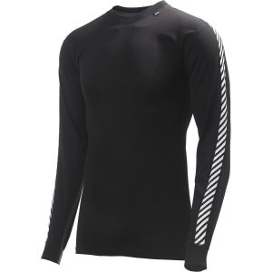 Helly Hansen Stripe Crew Tee-shirt manches longues homme Noir L